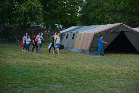 Пристигнување и сместување на натпреварувачките екипи 15.09.2017 Петок