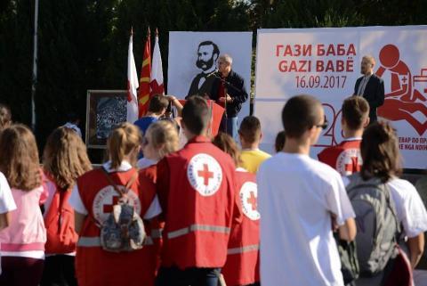Свечено отворање на натпреварот, Обраќање на градоначалникот на општина Гази Баба г.Тони Трајковски 16.09.2017 Сабота